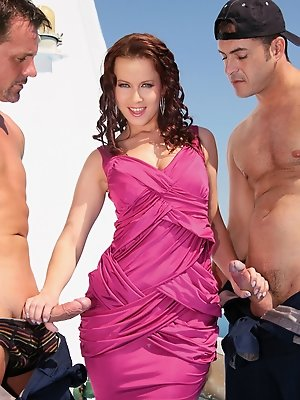 The very sexy Cindy Dollar loves sucking cock